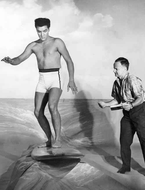 "Elvis - creating a scene for ""Blue Hawaii"""