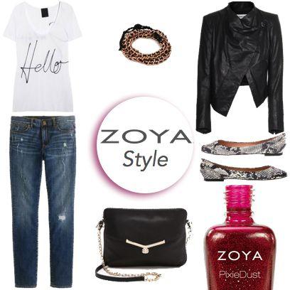 Artık tüm kadınlar biliyor! Gardırobunuzda mutlaka bulunması gereken bir parça var: Zoya oje... #zoyaturkiye #zoyaoje