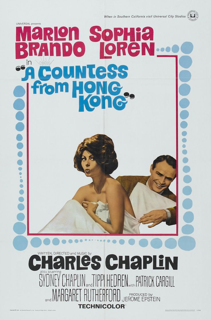 A Countess from Hong Kong (La contessa di Hong Kong, 1967)