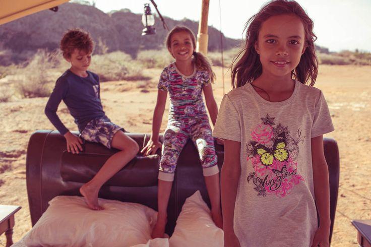 Boy // Top: Wiaco I Bottom: Wartur Girls // (L) Top & Bottom: Wanika (R) Dress: Wijnie