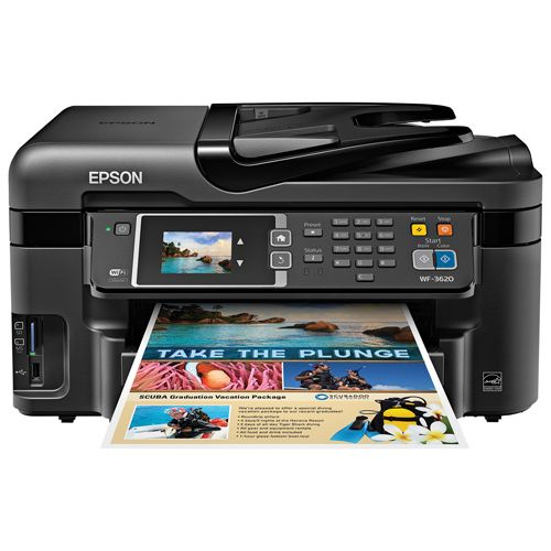 Epson Workforce All-In-One Inkjet Printer (WF-3620) #SetMeUpBBY everything i need