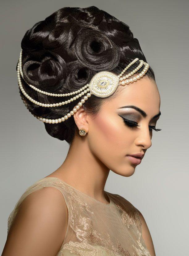Tazneem Ghaffar ::bridal hair........☀️