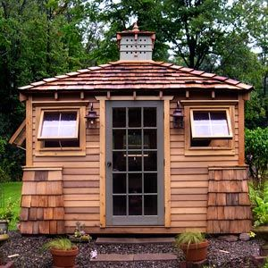 Cedar Shed 100 Square Feet Super Shed Pictures Photos