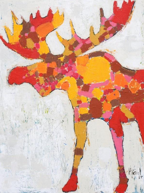 Orignal - Mixed medium on canvas