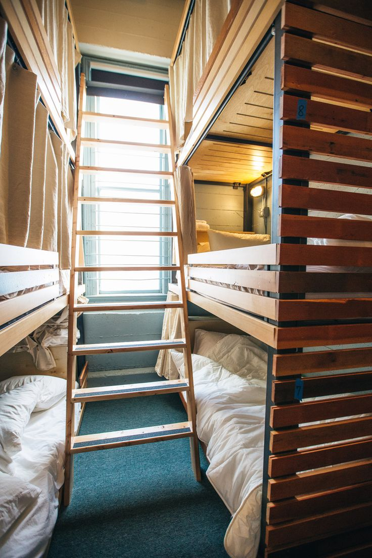 Portland OR - The Society Hotel by Integrate Architecture offers hostel style or guest room accommodation for varying budgets