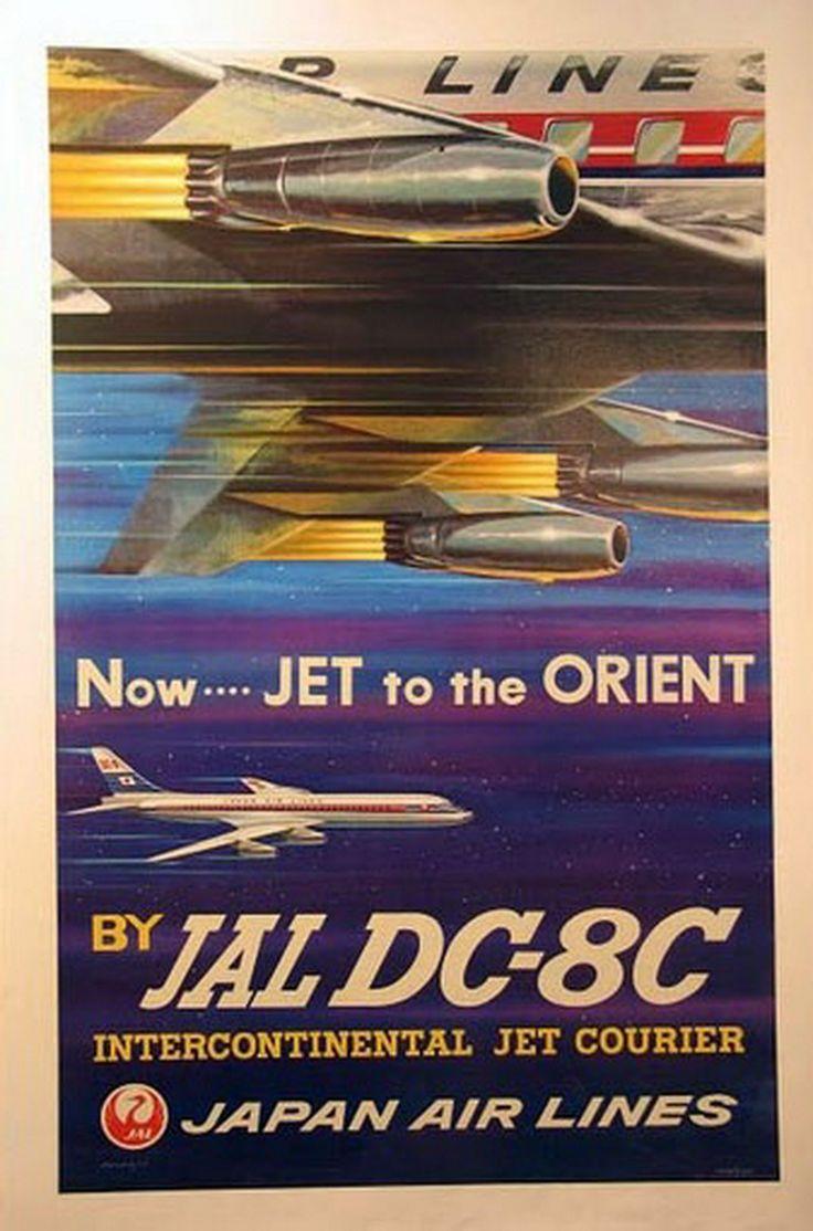 jal japan airlines douglas dc-8