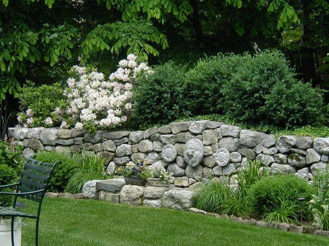 75 besten Mauern Bilder auf Pinterest Gartenmauern - sitzecke im garten mit steinmauer