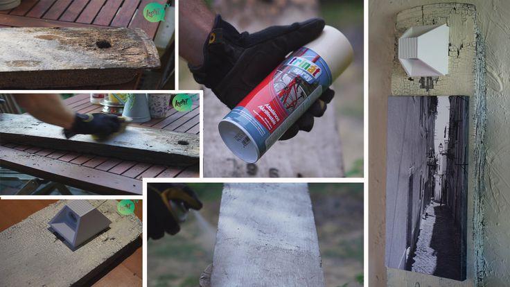 Így készíts ócska fából menő dísztárgyat!