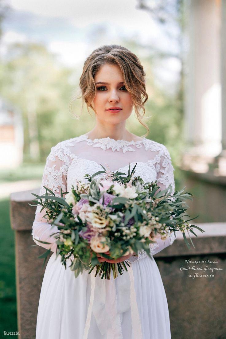 Букет невесты #растрепыш #букетневесты #свадебныйбукет