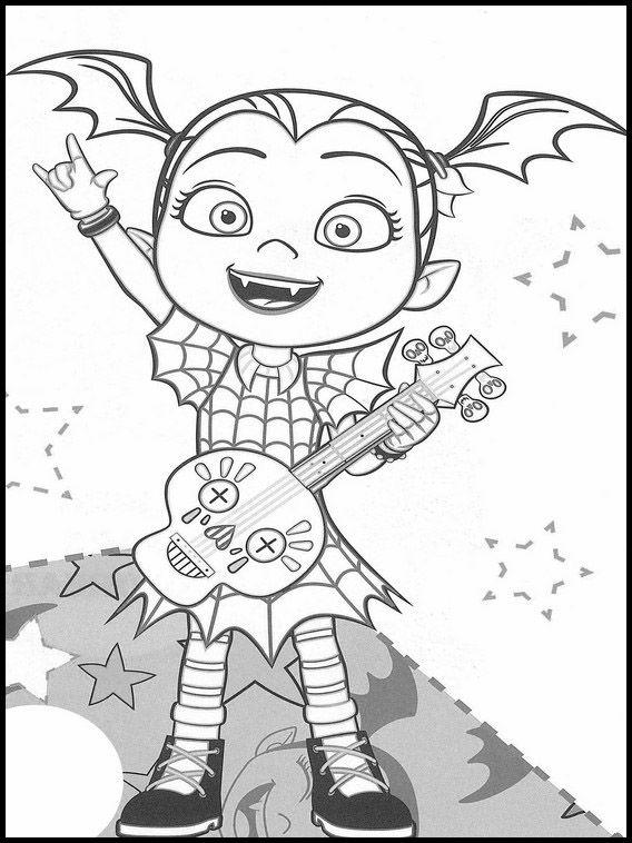 vampirina coloring pages 1 paginas