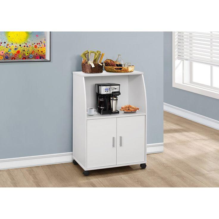 Nexera 2 Door Mobile Microwave Cart: 25+ Best Ideas About Microwave Cart On Pinterest