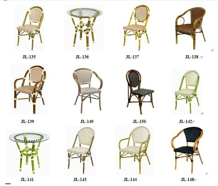 French Bistro Chairs,French Bistro Rattan Chairs,Rattan Bistro .