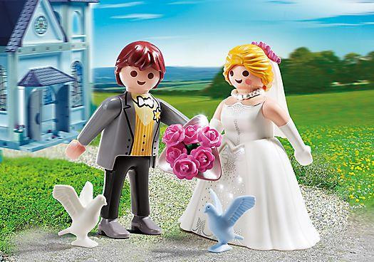PLAYMOBIL Duo Couple de mariés