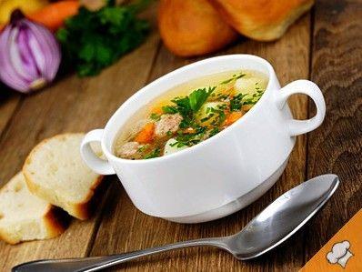 Суп с перцем