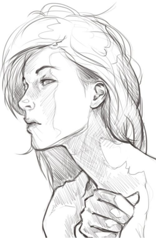 Always a challenge to sketch profile.