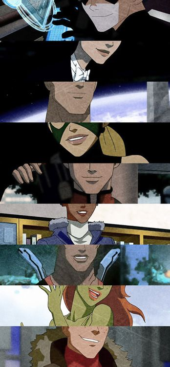 Young Justice | Back before the time skip