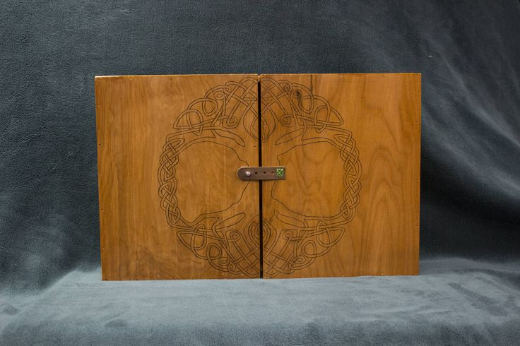 Made my SO a Tolkien inspired Dungeon Master screen - Imgur