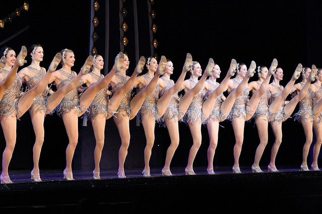 Rockettes - This (cheesy as it may be) is what I wanted to be when I grew up, from about age 4-12. they still kick ass.