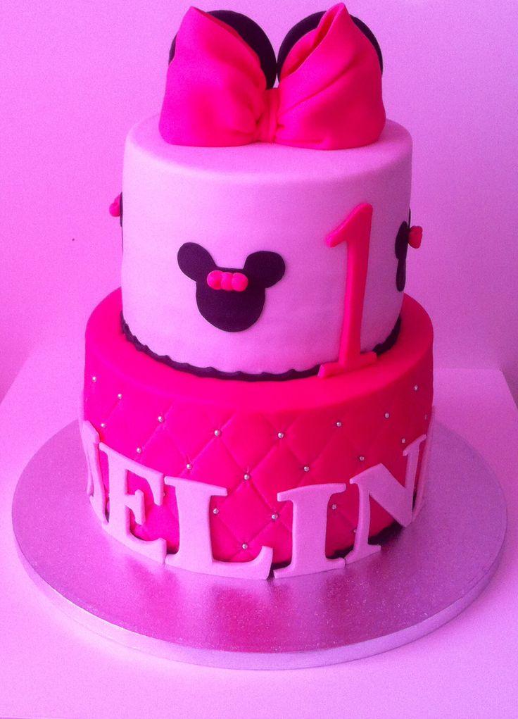 Gateau anniversaire Minnie