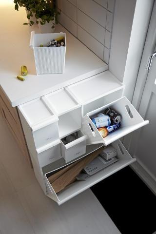 OPPBEVARING: Ikea er kjent for sine funksjonelle og praktiske møbler, og særlig smarte oppbevaringsløsninger. FOTO: Produsenten