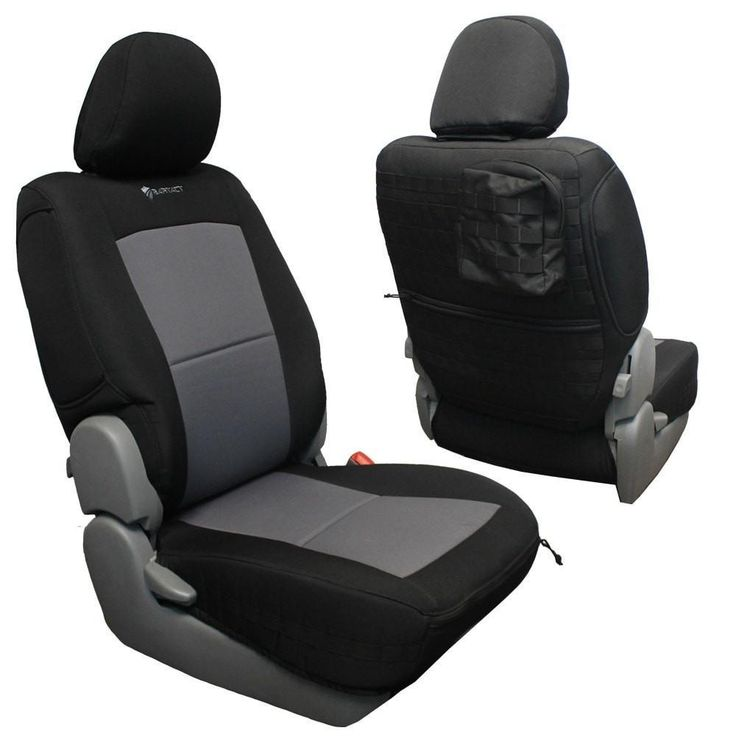 Toyota Tacoma Seat Covers 09-15 Tacoma Front Black/ACU Camo Tactical Series Pair Bartact