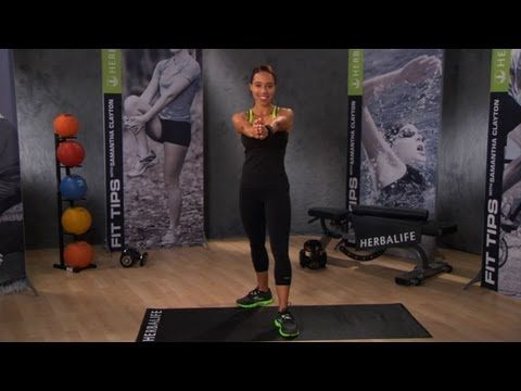 Herbalife fitness expert, Samantha Clayton shows you her favorite one minute micro-workouts. It only takes one minute to move your body & get energized. Try variations of this one minute micro-workout instead of turning to snacking or stressing out. Health can be fun with the right attitude & a one minute micro-workout can help boost your mood a...
