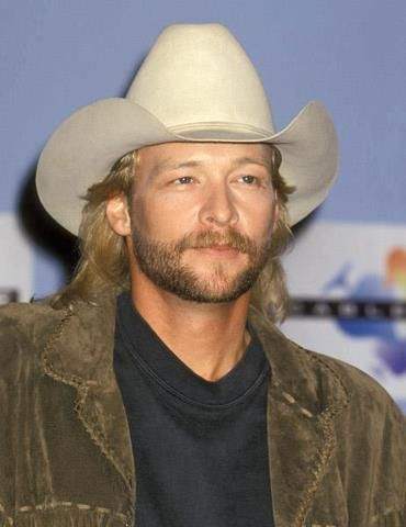 Alan Jackson..First saw him at the Puyallup fair as a side show, not on the main stage,right before he became a star....