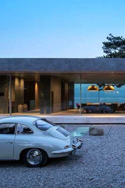 Villa D in Vaud, Switzerland by Grégory Garcia Architect