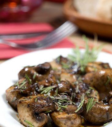 Μανιτάρια φουρνιστά με δεντρολίβανο και λάδι σκόρδου | Γιάννης Λουκάκος