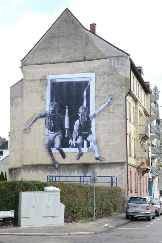 Best Creative D Street Art Murals Images On Pinterest - Spanish street artist transforms building facades into amazing artworks