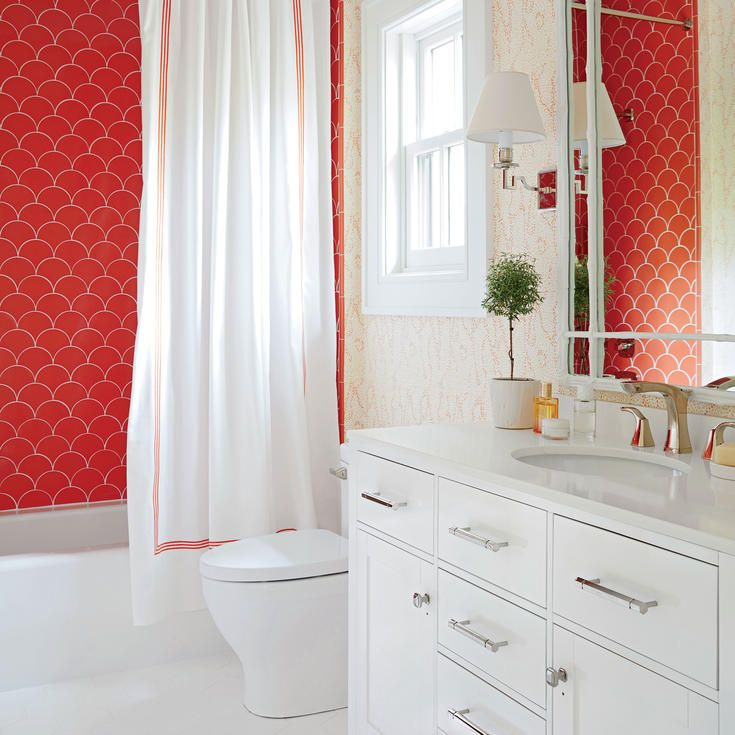6 inspiring bathroom and kitchen tile ideas from the hamptons showhouse - Matchstick Tile Castle 2016