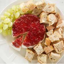 Brie et chutney aux canneberges