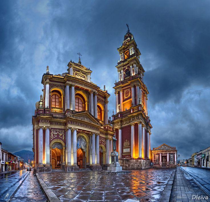 Church of San Francisco (Salta, Argentina) by Domingo Leiva. Argentina