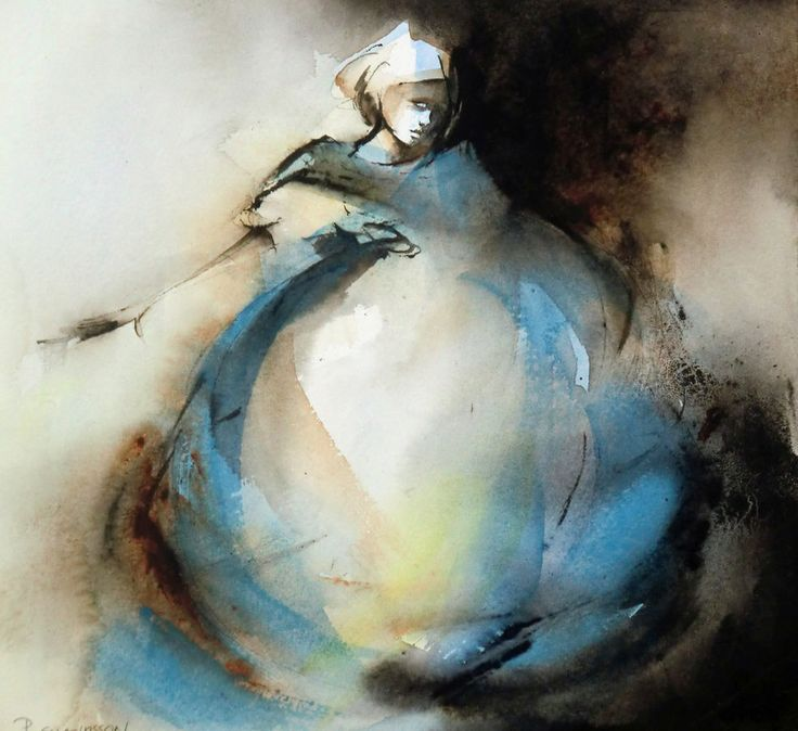 Pia Erlandsson | Swedish Watercolor painter | Tutt'Art@ | Pittura * Scultura * Poesia * Musica |