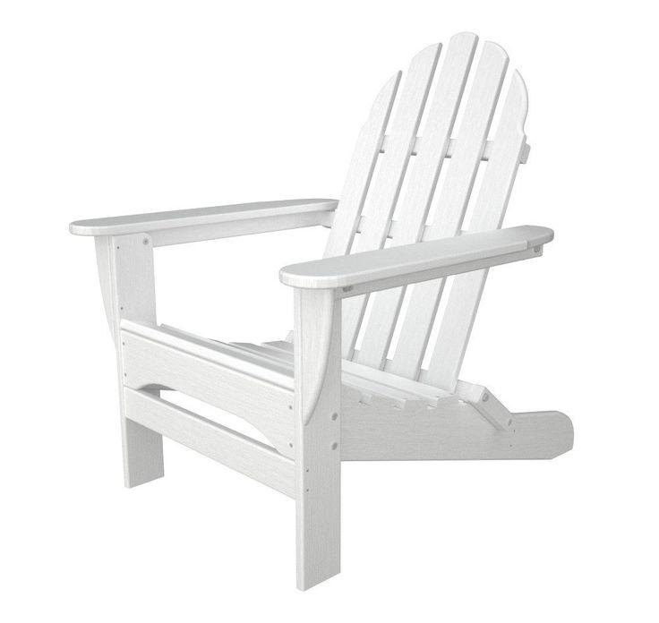 POLYWOOD™ Classic Folding Adirondack Chair