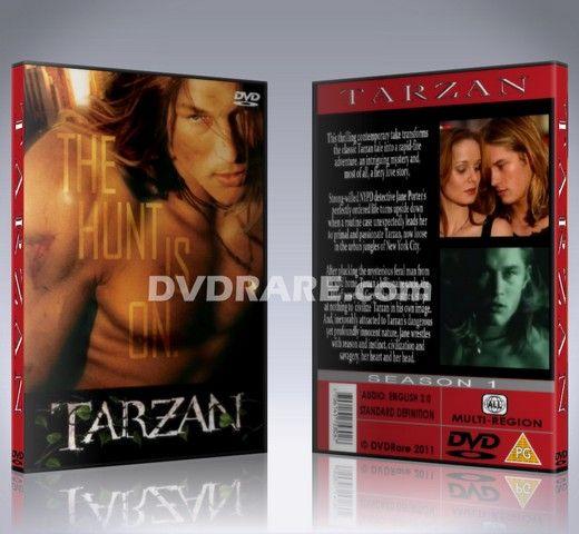 Tarzan DVD - 2003 Complete Series - Travis Fimmel