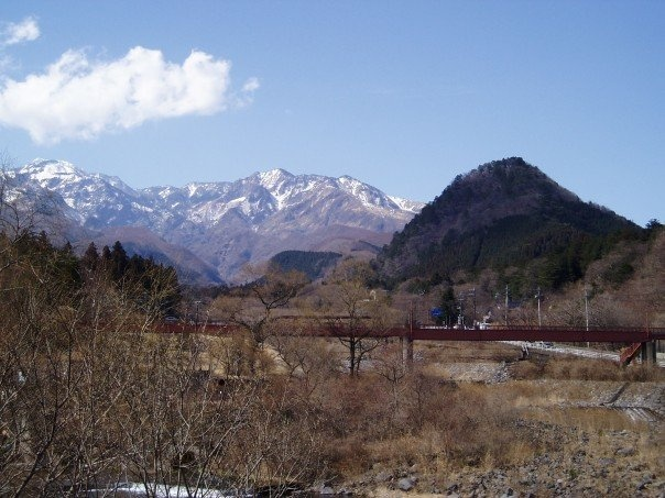 Japan 2006...beautiful mountains, reminded me of home <3