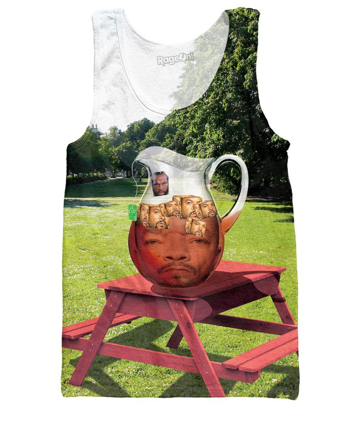 Mr. T Ice-T With Ice Cubes Tank Top