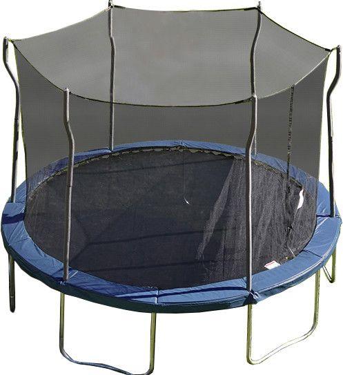 Kinetic 12' Trampoline and Enclosure Set