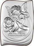 Anioł Stróż z latarenką prezent na chrzest.