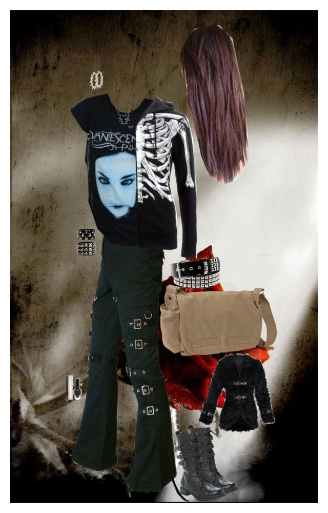 """""""Look 2-48"""" by candy-coated-doom ❤ liked on Polyvore featuring Hot Topic, Iron Fist, Everest, Topshop, NARS Cosmetics, emo and HIWIDIHS"""