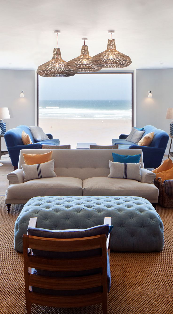 CORNWALL: Ocean Room at Watergate Bay Hotel.