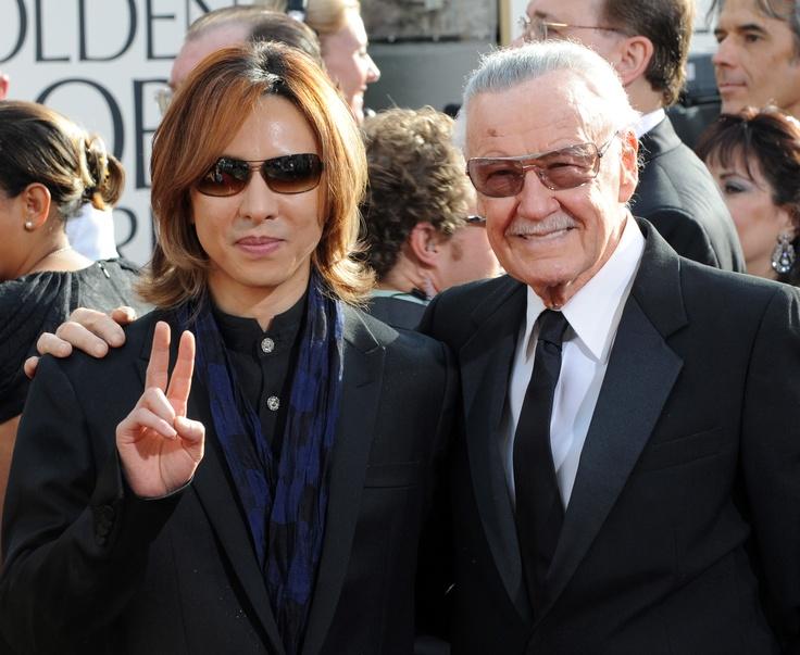 Yoshiki Hayashi And Stan Lee Arrive At The 68th An - Photo 79   ThirdAge