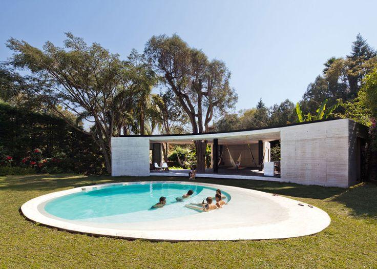 Tepoztlan Lounge by Cadaval & Sola-Morales