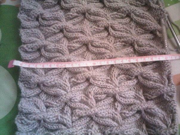 motif buterfly knit