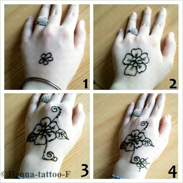Tatouage au henne facile a faire tatouage - Dessin henne facile faire ...