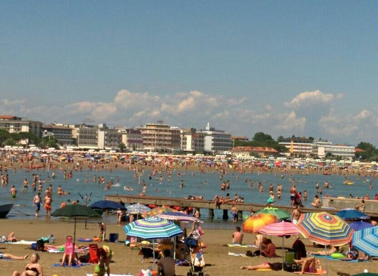 #beach #sun and #fun: a perfect #holiday. #Caorle, in #Italy