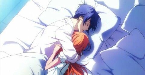 Aoi & Kohana - Hug in bed (Magic Kyun! Renaissance)