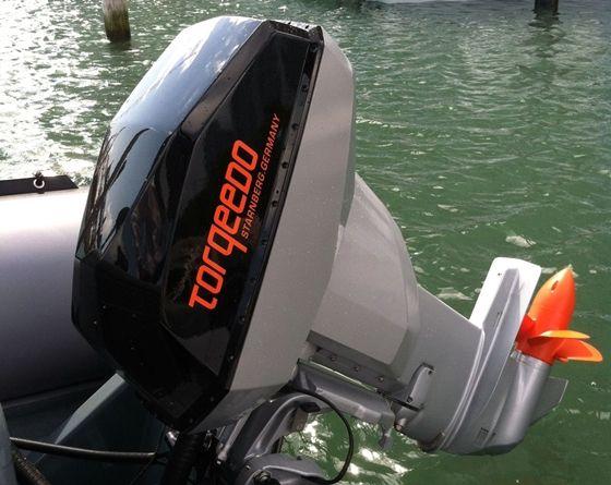 """Torqeedo Deep Blue Makes Award-Winning Debut in Miami""  #boatsdotcom"