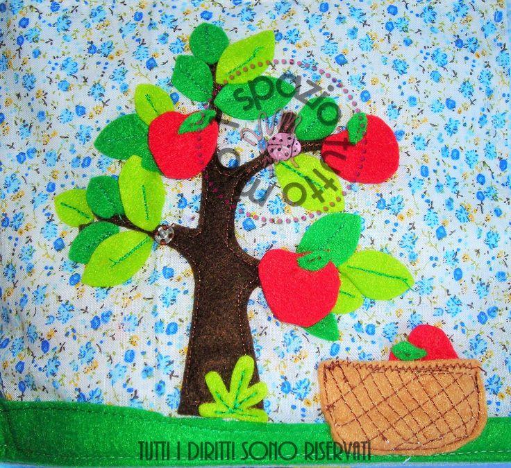 albero mele - quietbook page